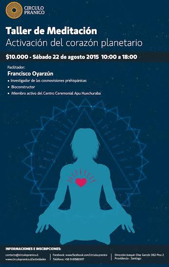 Taller Meditacion Francisco Oyarzun Circulo Pranico